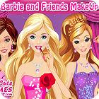Barbie and Friends Make up παιχνίδι