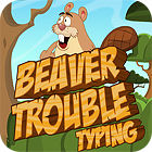Beaver Trouble Typing παιχνίδι