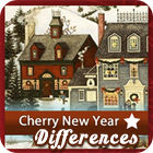 Cherry New Year 5 Differences παιχνίδι