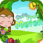 Cute Fruit Match παιχνίδι