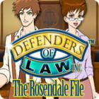 Defenders of Law: The Rosendale File παιχνίδι
