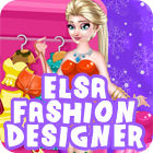 Elsa Fashion Designer παιχνίδι