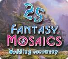 Fantasy Mosaics 25: Wedding Ceremony παιχνίδι
