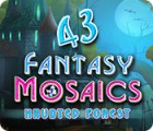 Fantasy Mosaics 43: Haunted Forest παιχνίδι