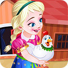 Frozen. Anna Poultry Care παιχνίδι