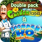 Gardenscapes & Fishdom H20 Double Pack παιχνίδι