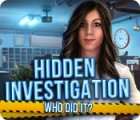 Hidden Investigation: Who Did It? παιχνίδι