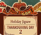 Holiday Jigsaw Thanksgiving Day 2 παιχνίδι