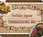 Holiday Jigsaw Thanksgiving Day παιχνίδι