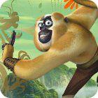 Kung Fu Panda 2 Monkey Run παιχνίδι