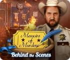 Memoirs of Murder: Behind the Scenes παιχνίδι