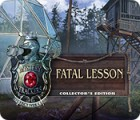 Mystery Trackers: Fatal Lesson Collector's Edition παιχνίδι