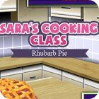 Sara's Cooking Class: Rhubarb Pie παιχνίδι