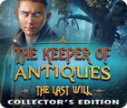 The Keeper of Antiques: The Last Will Collector's Edition παιχνίδι