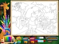Free download Dora the Explorer: Online Coloring Page screenshot 1