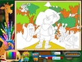 Free download Dora the Explorer: Online Coloring Page screenshot 2
