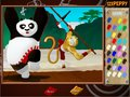 Free download Kung Fu Panda 2 Coloring Page screenshot 2